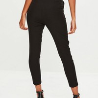 Missguided - Petite Black Cigarette Pants