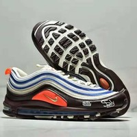NIKE AIR MAX 97 PLUS air cushion cushioning bullet running shoes