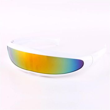 X-men Individuality Sunglasses Mercury Lens Laser Glasses Travel Windproof Sun Glasses Robots Eyewear