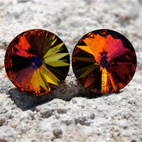 Super Sparklers Medium  Tropical Sunrise Swarovski by MASHUGANA
