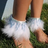 Fairytale Ankle Cuffs from Cosmic Kinship