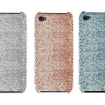 Custom iPhone 5s and iPhone 5 Swarovski Elements Crystal Cases Classic Series - Christmas/Holiday 2013