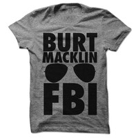Burt Macklin Fbi Tee (andy Dwyer)