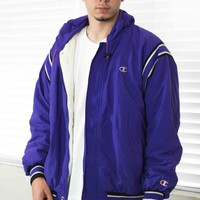 Vintage Champion Jacket Logo 90s