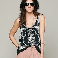 Free People FP X Flower Garland Tank