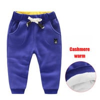 2016 new boys girls with thickening exercise pants Children autumn winter pants baby harem warm pants kids clothing leggings