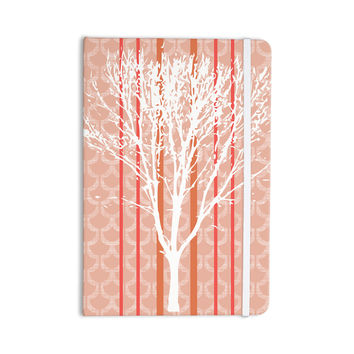 "Pellerina Design ""Spring Tree"" Orange Pastel Everything Notebook"