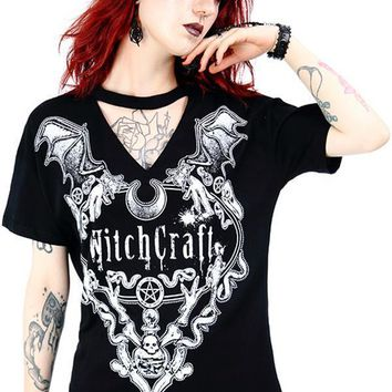 Witchcraft Choker   TOP
