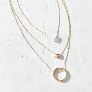 Just Geo Necklace Set