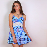 Peacock Orchid Dress