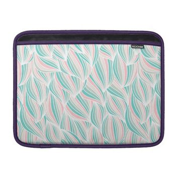 Colorful Ocean Waves Pattern Macbook Air Sleeve
