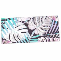 "KESS InHouse Alison Coxon ""Midnight Jungle"" Pink Blue Office Desk Mat, Mouse Pad, 13 x 22"" (AC1061ADP01)"