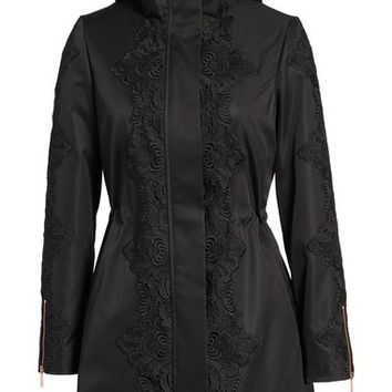 Ted Baker London Lace Detail Anorak Jacket | Nordstrom