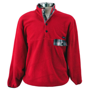 All Prep Pullover in Red by Southern Proper