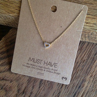 """Crystal Heart """"Must Have"""" Necklace"""