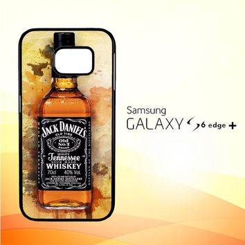jack daniels drinks W4917 Samsung Galaxy S6 Edge Plus Case