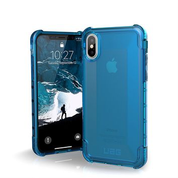 UAG iPhone X Plyo Feather-Light Rugged [GLACIER] Military Drop Tested iPhone Case…