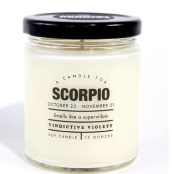 Astrology Candle | Scorpio