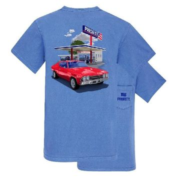 Southern Couture Priority Classic Car Pocket Unisex T-Shirt