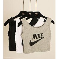 Nike Woman Casual Print Sport Gym Vest Tank Top Cami G