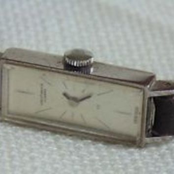 Rare Leicht-Mayer Lucerne Vintage sm simple design watch working