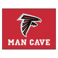 Atlanta Falcons NFL Man Cave All-Star Floor Mat (34in x 45in)