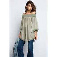 Clara Off-Shoulder Blouse - More Colors!
