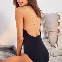 Out From Under Rainbow Bungee Bodysuit   Urban Outfitters