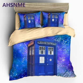 AHSNME Home Textile Doctor Tadis Style Sanding 3pcs Bedding Set Duvet Cover Beddingset Sheet Pillowcase Can be customized image