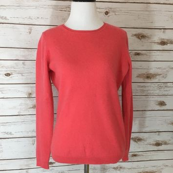 Pre-owned Charter Club Crew Neck Cashmere Sweater ( Size M)