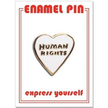 THE FOUND PIN - HUMAN RIGHTS HEART