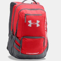 Under Armour Storm Hustle II Backpack in Red 1263964-600