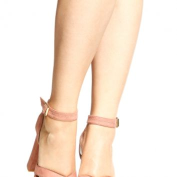 Mauva Faux Suede Ankle Strap Chunky Platform Heels @ Cicihot Heel Shoes online store sales:Stiletto Heel Shoes,High Heel Pumps,Womens High Heel Shoes,Prom Shoes,Summer Shoes,Spring Shoes,Spool Heel,Womens Dress Shoes