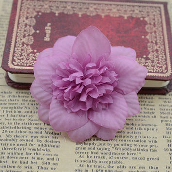 7cm simulation flower rose silk flower DIY hair ornaments snowflake hat corsage flower decoration accessories