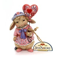 Jim Shore Love Is In The Air Valentines Figurine