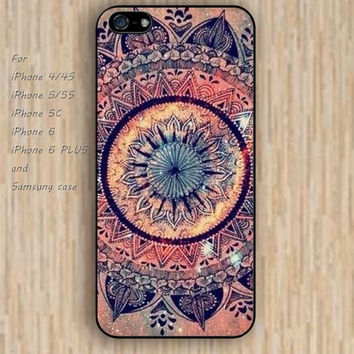 iPhone 5s 6 case watercolor mandala fire colorful phone case iphone case,ipod case,samsung galaxy case available plastic rubber case waterproof B520