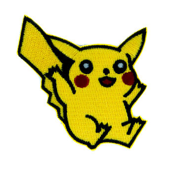 Pikachu Pokemon Go Trainer Patch Iron on Applique Alternative Clothing