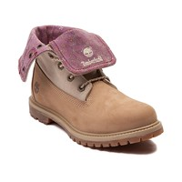 Womens Timberland Fold Down Floral Boot