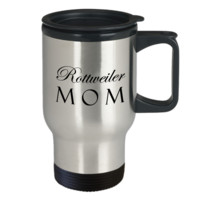 Rottweiler Mom - Travel Mug