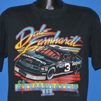 90s Dale Earnhardt Intimidator III 1990 Tour t-shirt Large