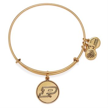 Purdue University Logo Charm Bangle