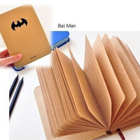 2014 Hot superman series hardcover notebook,superman,batman,iron man, captian of america for choose  (batman) = 1946416772