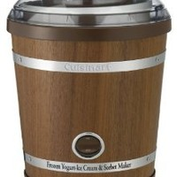 Cuisinart ICE-35 2-Quart Wooden Ice Cream Maker
