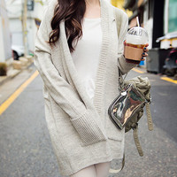 Open Baggy Cardigan