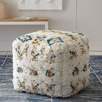 Pop Color Moroccan Wedding Pouf