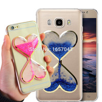 Phone Case - Bling Quicksand Hourglass Phone Case for Samsung & Iphone