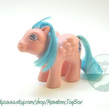 Vintage My Little Pony Baby Firefly - Bait or needs TLC