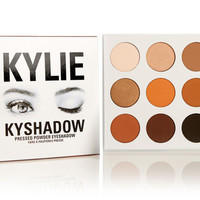 Kylie Kyshadow Jenner Eyeshadow Cosmetics Beauty Professional Makeup Palette 9