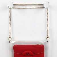 Kiss Clear Envelope Clutch Bag