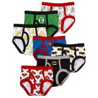 Warner Brothers® Toddler Boys' Justice League 7 Pack Briefs : Target